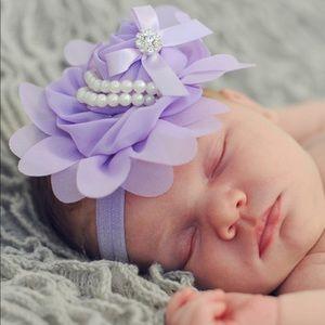🏝Royalty Purple Flower Headband